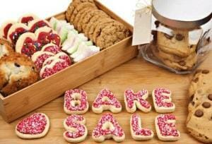 Image result for christmas cake sale school