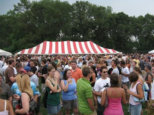 Craft beer fundraiser crowd