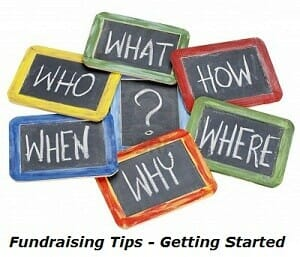 Fundraising Tips Getting Started