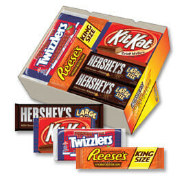 Hersheys chocolate fundraiser pack