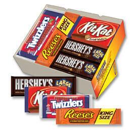 Hersheys chocolate fundraiser pack