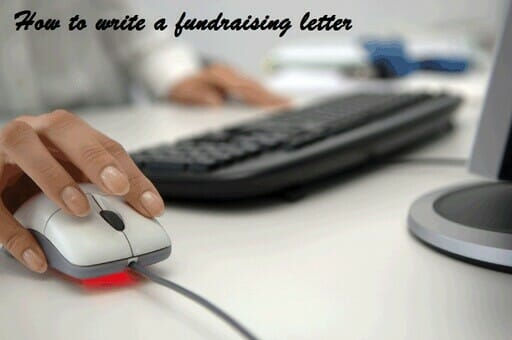 How to write a fundraising letter