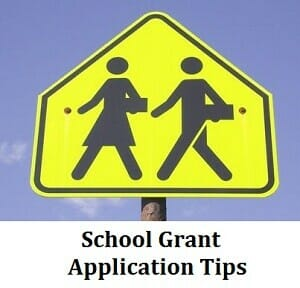 School Grant Application Tips