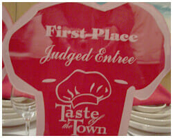 Taste of the town award