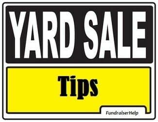 Yard Sale Tips for Fundraising