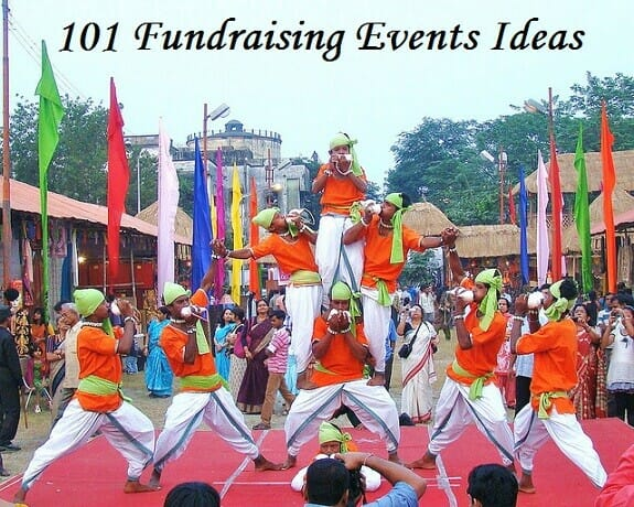 101 Fundraising Events Ideas