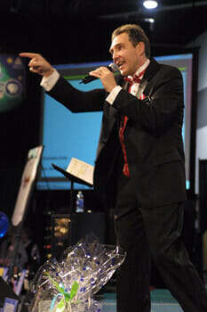 Charity auctioneer from Stokes Auction Group