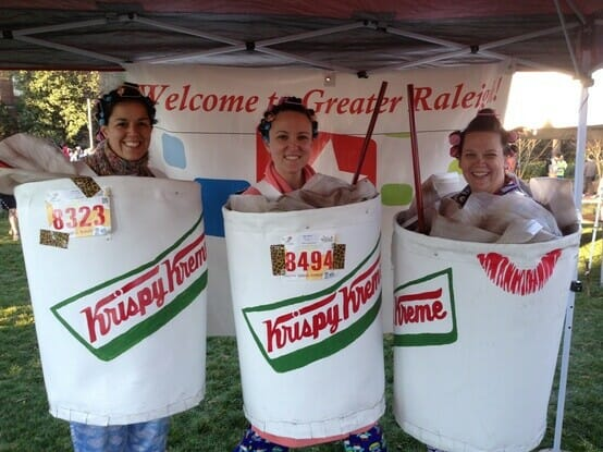 Krispy Kreme Challenge group costume winners