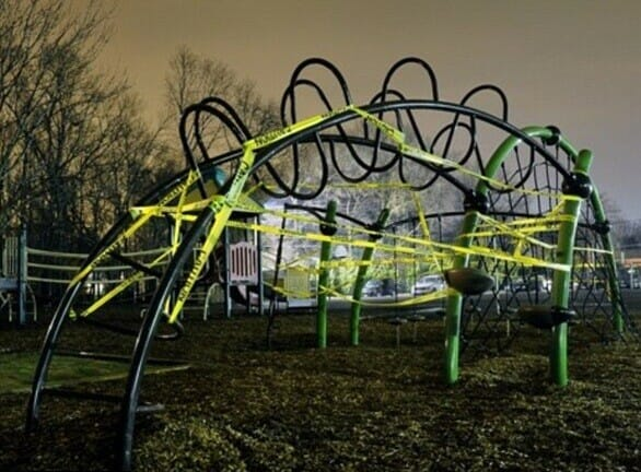 School fundraiser playground equipment ruled unsafe