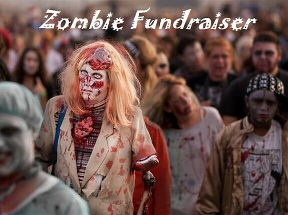 Zombie fundraiser