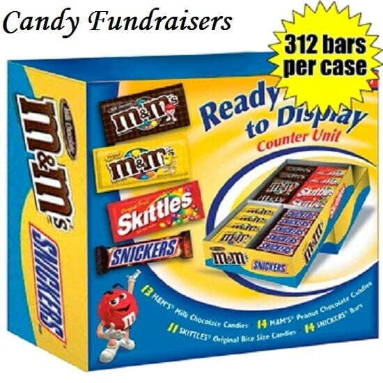 Candy fundraisers