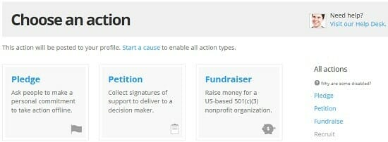 Causes.com Fundraising Online