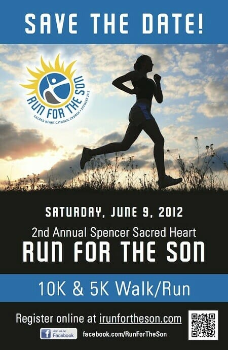 Church fundraising event ideas: Run For The Son
