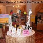Donation request letters for silent auction