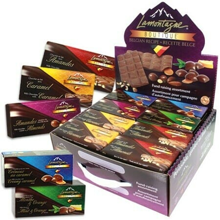 LaMontagne chocolates use premium ingredients