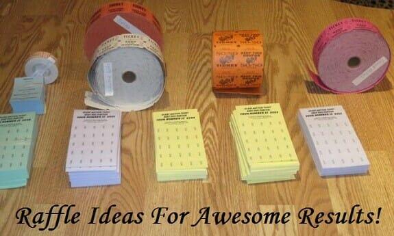 raffle ideas