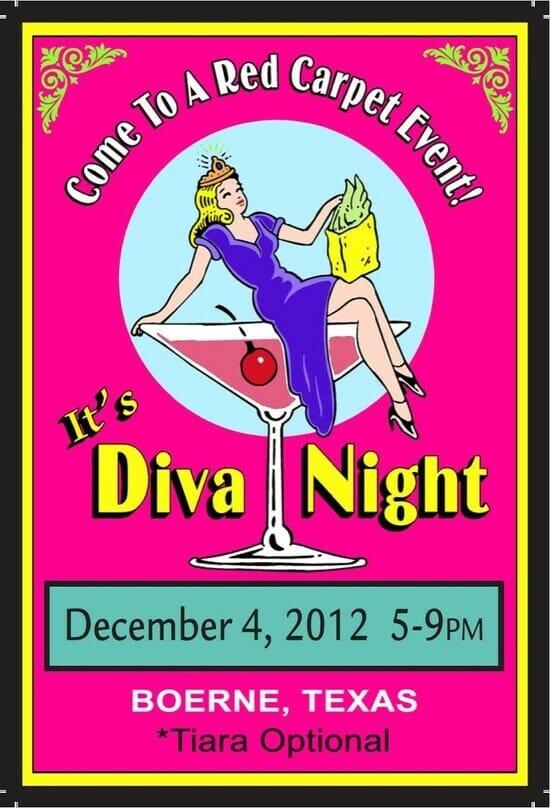 Diva Night fundraiser event