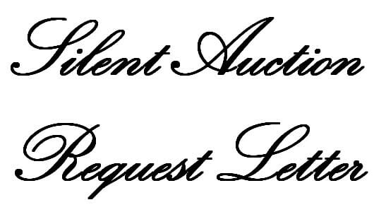 Silent Auction Request Letter – Sample Donation Request Letter