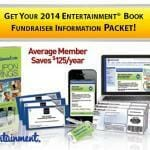 Entertainment Fundraising Coupon Book 2014