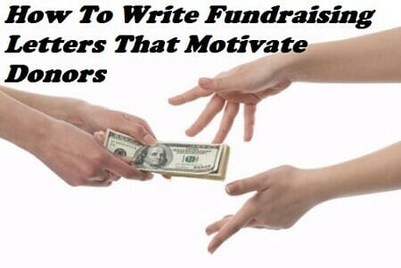how to write donation letters that motivate donors