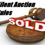 Rules For Silent Auctions