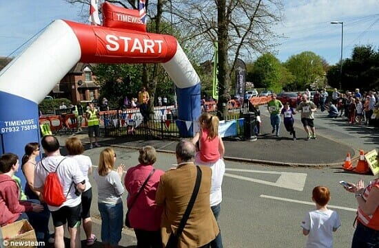 Worlds Shortest Fundraising Run