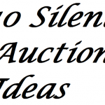 10 Silent Auction Ideas