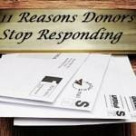 11 Reasons Donors Stop Responding To Appeal Letters