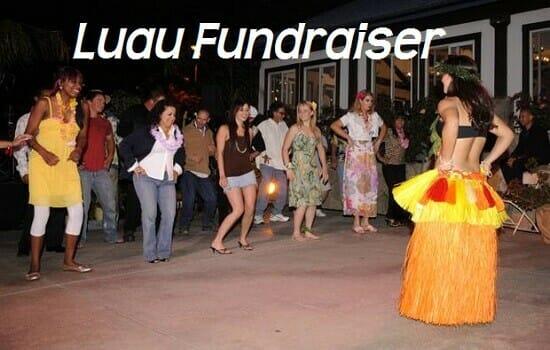 Luau Fundraiser Ideas