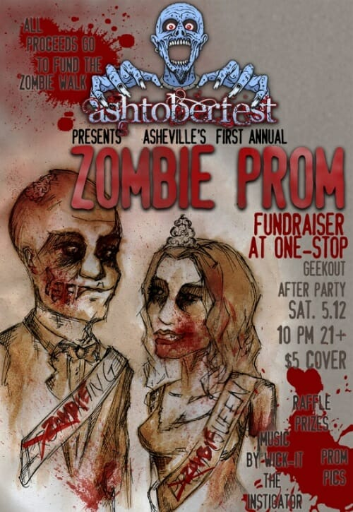Zombie Prom Fundraiser