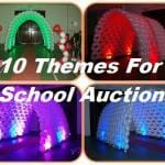 10 School Auction Themes