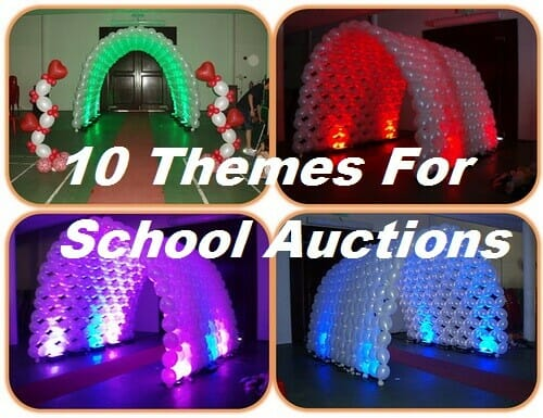 10 Themes For School Auctions