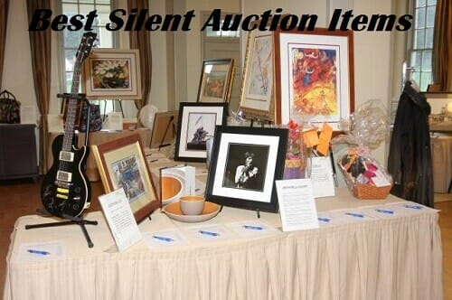 Best Items For Silent Auctions