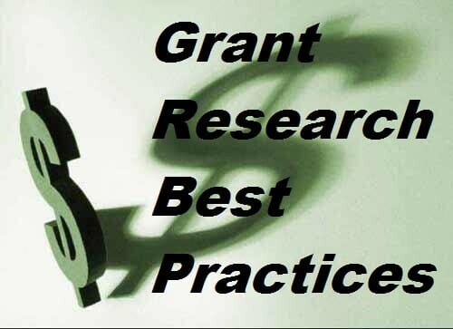 Grant Research Best Practices