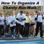 How To Organize A Charity Run/Walk