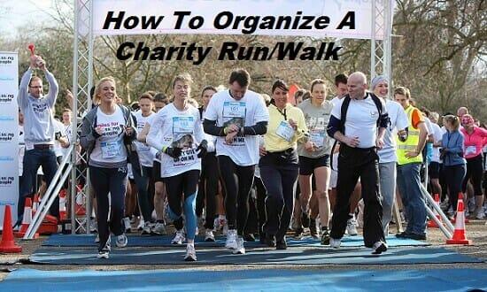 How To Organize A Charity Run/Walk