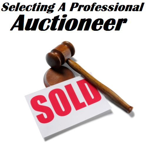 Selecting A Professional Auctioneer
