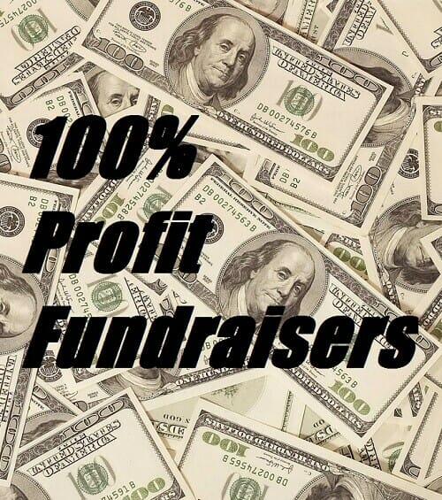 100 Percent Profit Fundraisers