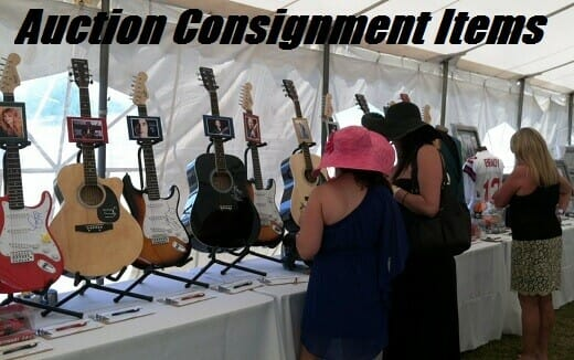 Auction Consignment Items For Charity