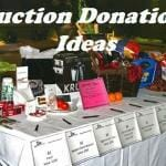 Auction Donation Ideas