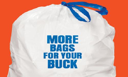 School Fundraiser Trash Bags