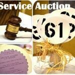 Service Auction Fundraiser