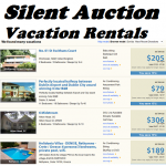 Silent Auction Ideas – Vacation Rentals