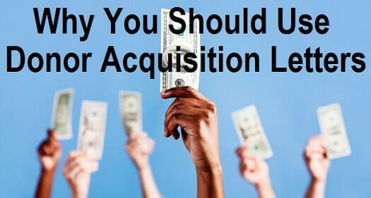 Why You Should Use Donor Acquisition Letters
