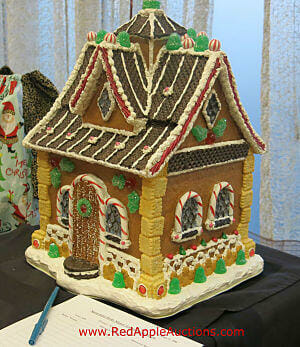 Silent Auction Items Ideas - Gingerbread house