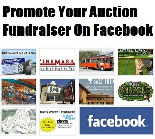 Promote Your Auction Fundraiser On Facebook