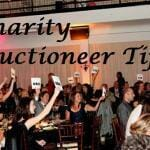 Charity Auctioneer Tips