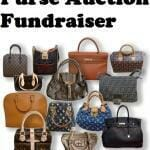 Purse Auction Fundraiser Ideas