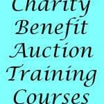 Charity Benefit Auction Training Courses