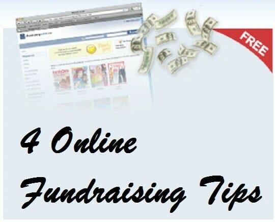 4 Online Fundraising Tips